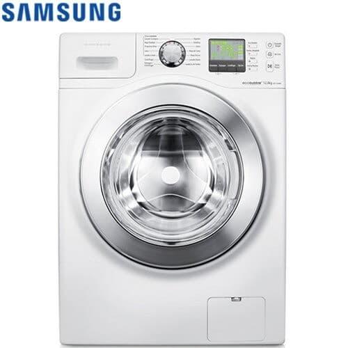 【SAMSUNG 三星】洗脫烘滾筒洗衣機14KG-WD14F5K5ASW/TW-大量衣物輕鬆洗